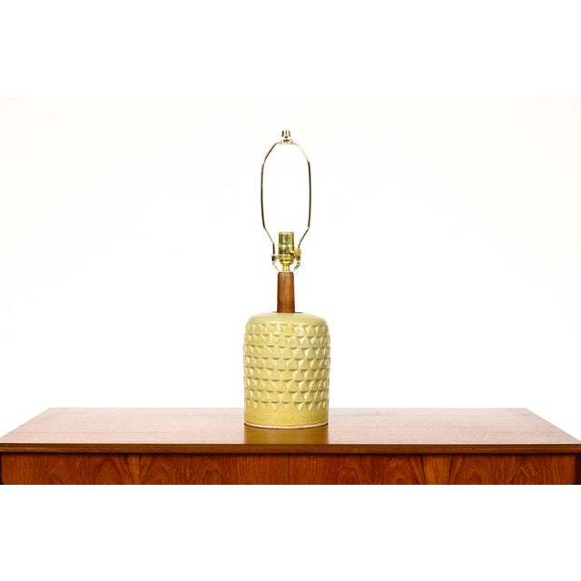 2010s Christian Boehr Ceramic Stoneware Table Lamp For Sale - Image 5 of 5