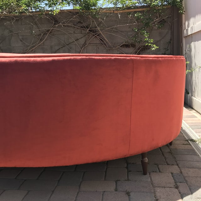 Textile Mid-Century Probber Style Velvet Sectional Sofa For Sale - Image 7 of 12