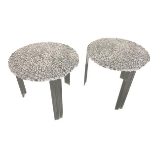 Kartell T-Tables - A Pair For Sale