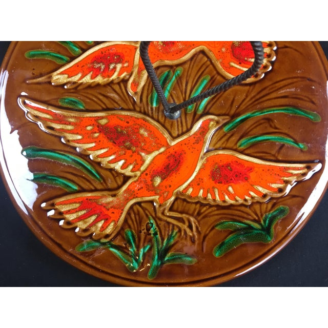 1970s French Glazed Ceramic Serving Dish For Sale In Miami - Image 6 of 7
