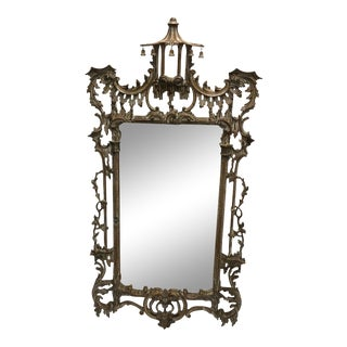 Chinese Chippendale Style Italian Mirror For Sale