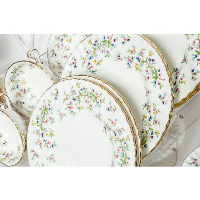 Minton English Full Service Dinnerware for 12 People - 84 Pc. Set For Sale - Image 9 of 13