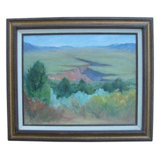 A. L. Spitler, Southwestern Landscape For Sale