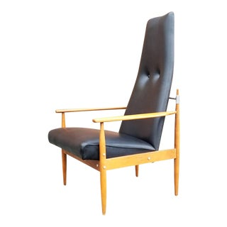 Baumritter High Back Lounge Chair