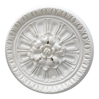 Vintage Ceiling Medallion For Sale