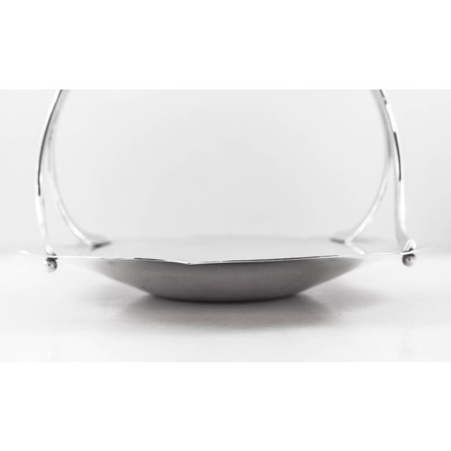 Sterling Tiffany Midcentury Basket For Sale In New York - Image 6 of 8