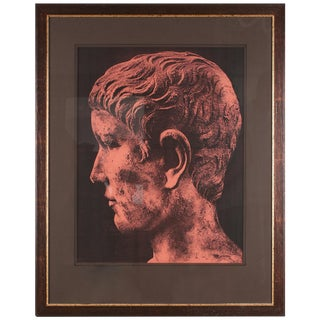 Original Xerography Print of Busts From Antiquity VII For Sale