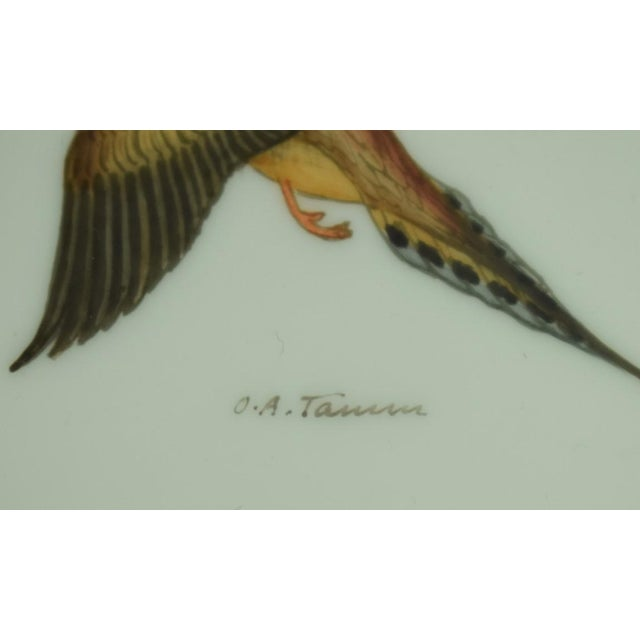 Abercrombie & Fitch 1950s Vintage Abercrombie & Fitch Game Bird Coasters - Set of 4 For Sale - Image 4 of 7