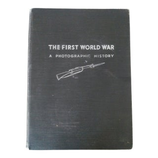 The First World War, a Photographic History Book by Laurence Stallings For Sale