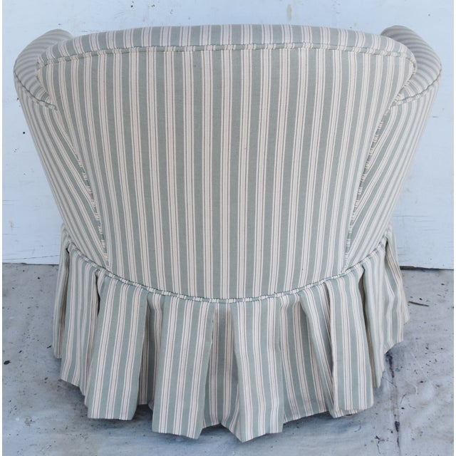 Vintage Scalamandre Upholstered Vanity Accent Side Chair For Sale In Los Angeles - Image 6 of 12