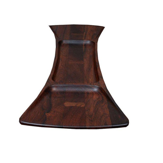 Wood Rosewood Jens Quistgaard for Dansk Tray For Sale - Image 7 of 8
