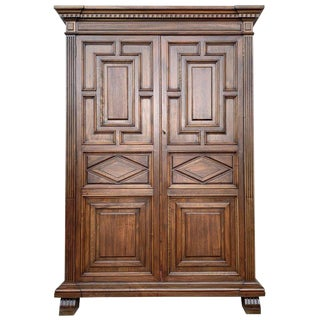 20th Century Cupboard or Cabinet, Oak, Castillian Influence, Spain For Sale