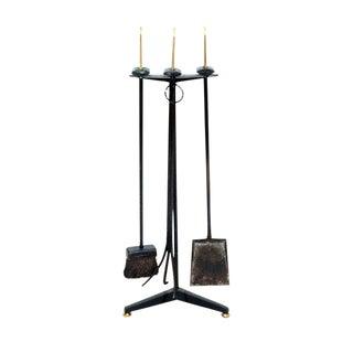 Donald Deskey Fireplace Tool Set