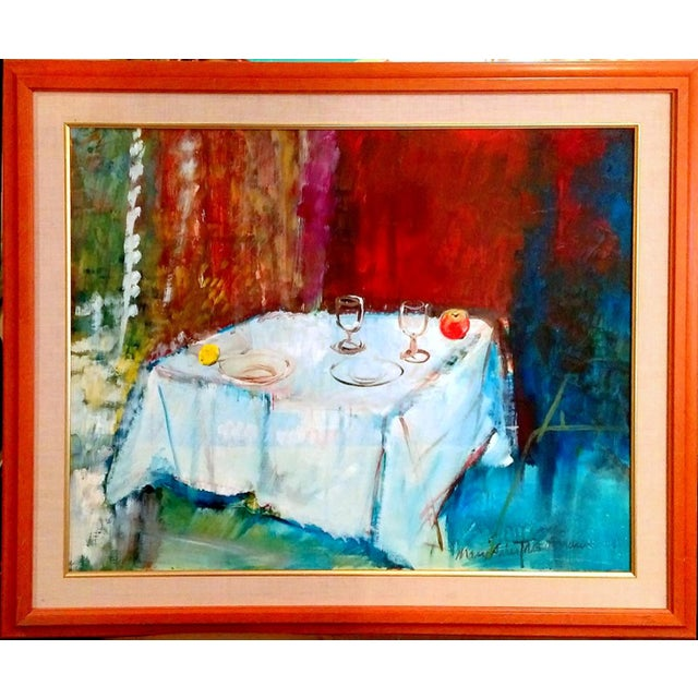 Mary Asher-Trautmann Tabletop Still Life Oil Painting - Image 1 of 8