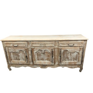 Louis XV Distressed Enfilade Buffet
