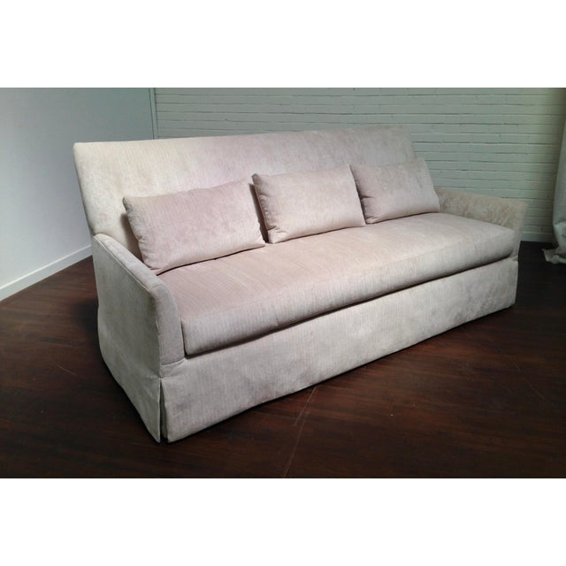 RJones RJones Charleston Skirted Sofa For Sale - Image 4 of 8