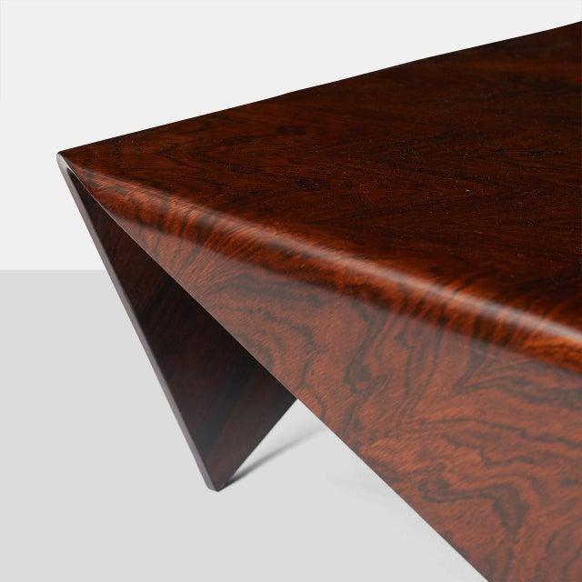 Jorge Zalszupin Andorinha Table by Jorge Zalszupin For Sale - Image 4 of 6