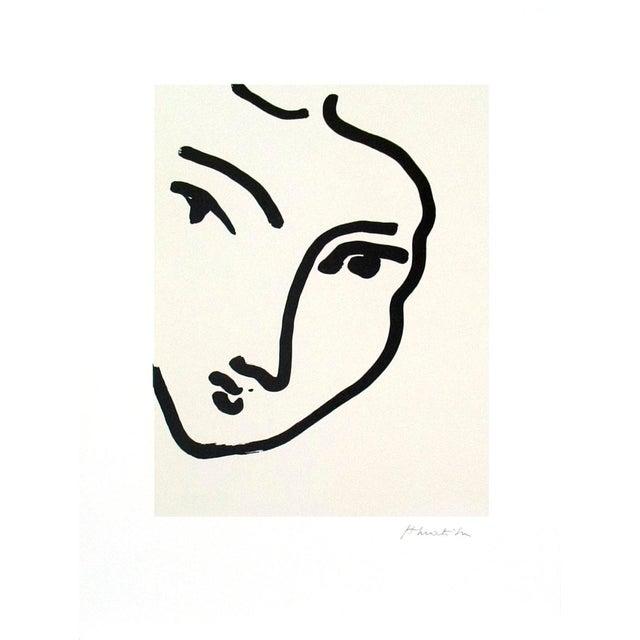 """Nadia Au Menton Pointu"" by Henri Matisse - Image 2 of 2"