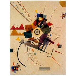 Wassily Kandinsky All Around (No Text) Lithographic Print, 1992 For Sale
