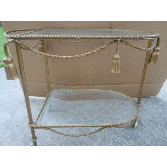 Vintage Italian Bar Cart - Image 3 of 6