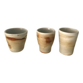 Southwestern Ceramic Tumblers / Planters - Set of 3 For Sale