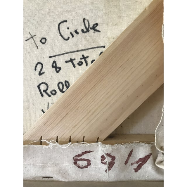 Signed Gino Hollander Original Acrylic Painting - Image 9 of 11