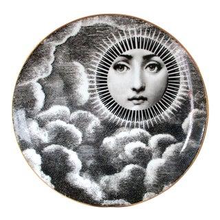 Vintage Rosenthal Fornasetti Plate, Motiv 18, Lina Cavalieri, 1980's For Sale