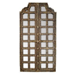 Antique Palace Door Mirror For Sale