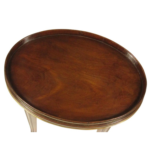 English 18th-C Mahogany Butler's Tray on Stand For Sale - Image 3 of 11