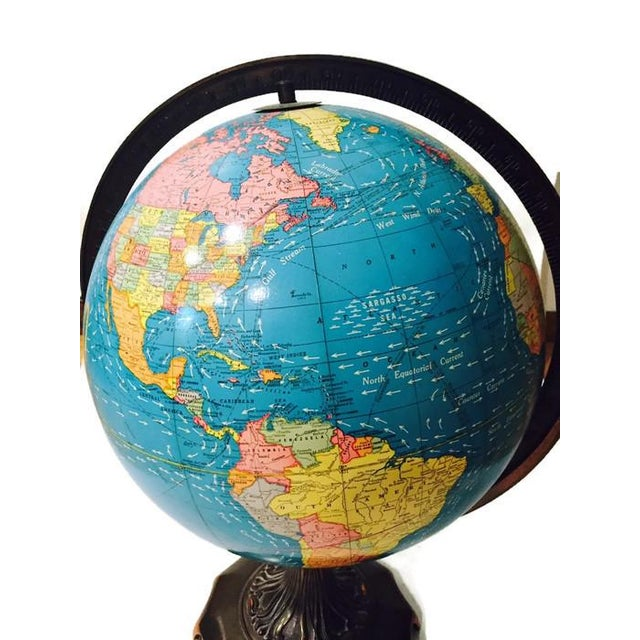 Vintage Cram's Double Axis World Globe - Image 2 of 6