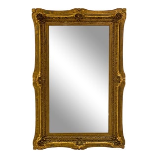 "Victorian Mirror, 70.25"" High X 46"" Wide For Sale"