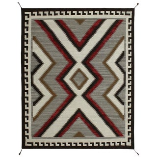 Navajo Style Rug - 8' X 10' For Sale