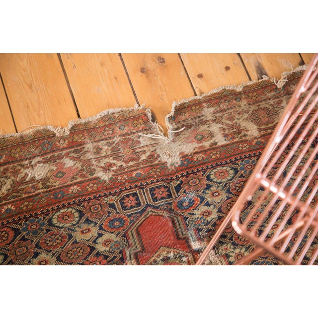 "Antique Fereghan Rug - 4'1"" x 6'3"" - Image 7 of 9"