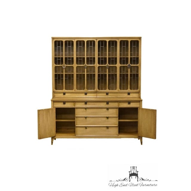"""White of Mebane Contemporary French Style 67"""" China Cabinet For Sale - Image 9 of 13"""