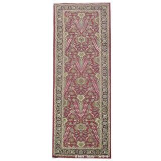 Vintage Persian Tabriz Rug - 3' x 10'10'' For Sale