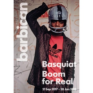 Basquiat (Basquiat: Boom for Real London) Exhibition Poster For Sale