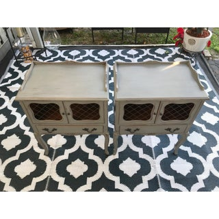 1970s Shabby Chic Style Nightstands - a Pair Preview