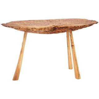 Unique Old Oak Table by Jörg Pietschmann For Sale