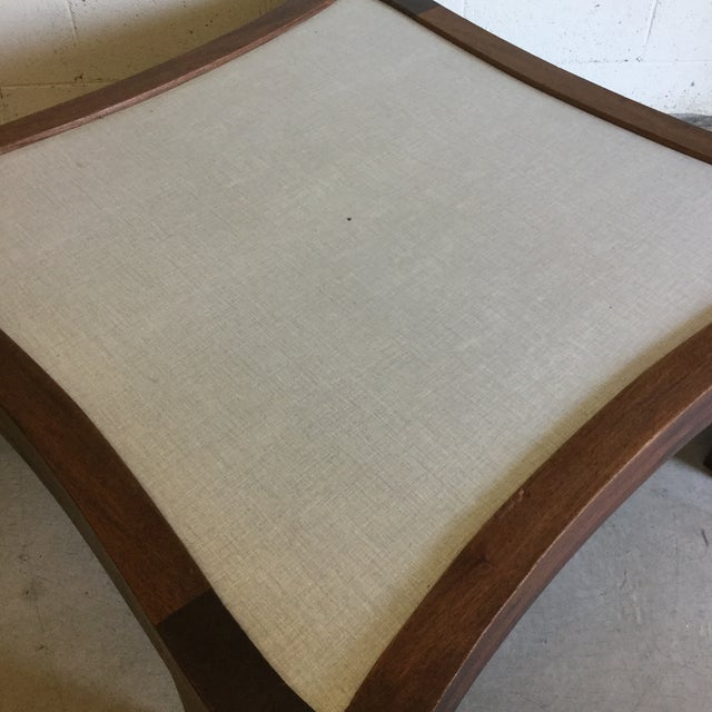 Walnut Mid Century Modern Walnut Coffee Table For Sale - Image 7 of 13