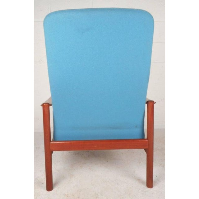 Mid-Century Modern Lounge Chair and Ottoman by Westnofa - Image 8 of 11
