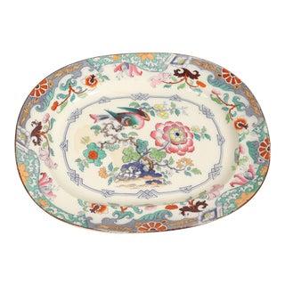 19th Century Ironstone Platter For Sale
