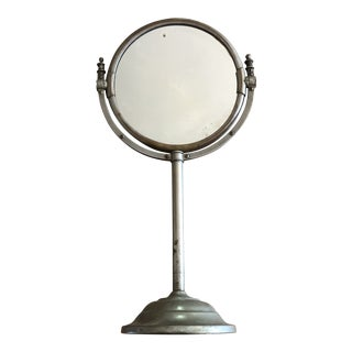 Antique Rotating Shaving Mirror For Sale