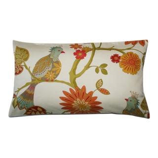 Bird in Tree Custom Lumbar Pillow For Sale
