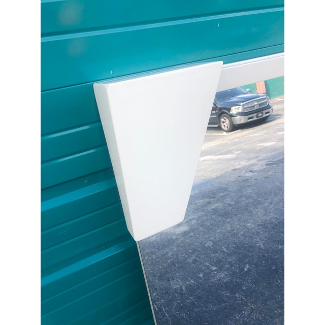 2000 - 2009 Roche Bobois Lacquered OpArt Mirror For Sale - Image 5 of 7