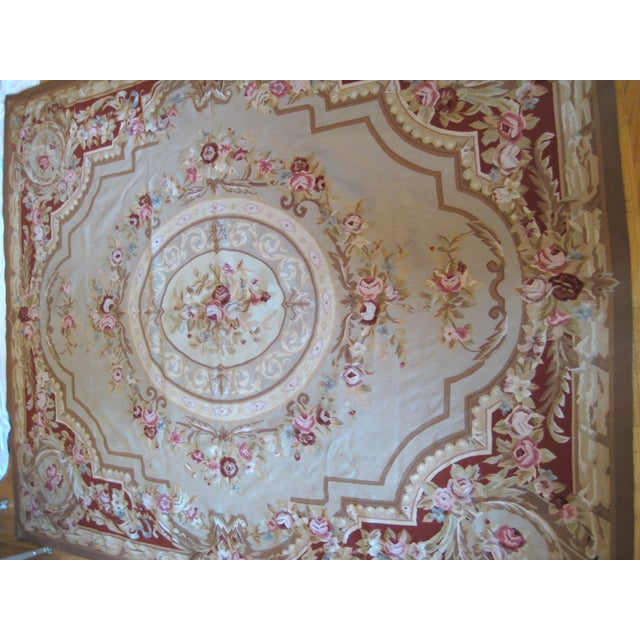 "French Aubusson Rug - 8' x 10"" - Image 2 of 9"