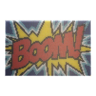 """Boom! (3/3)"" Pop Art Original Artwork by Matt Bilfield For Sale"