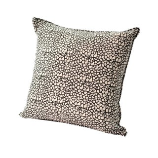 Tulu Textiles Bixby Black Pillow Cover For Sale