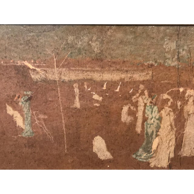 Aesthetic Movement Late 19th Century Antique Reputed Whistler Nocturne Study Painting For Sale - Image 3 of 13