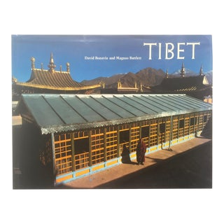 Rare Vintage 1988 Tibet Cultural Travel Color Photography Large Hardcover Art Book For Sale