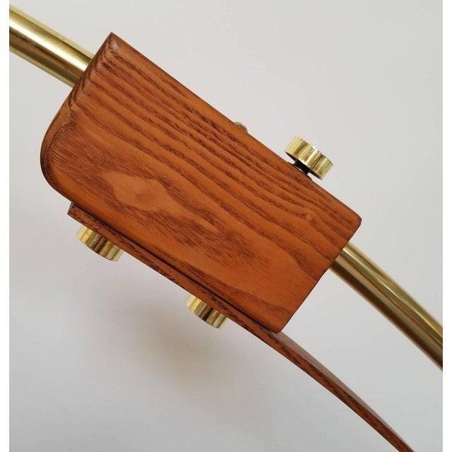 Mid-Century Modern 1970s Nova Lighting of California Arc Floor Lamp For Sale - Image 3 of 7